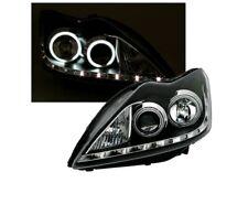 2005-2007 Ford Focus CCFL Halo Angel Eyes Black Projector Headlights RH /& LH