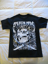 Men's American Outlaw Black Shirt, Brand NEW w/o tags, Size Medium