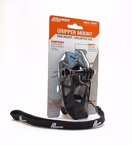 Dango Design Gopro Universal Helmet Gripper Clip Mount Holder Go Pro Black/Grey