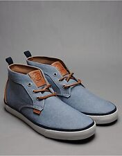Brand New Nicholas Deakins Chukka Boots Light Blue Size 7 RRP £64.99