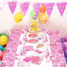 Birthday Party Supplies Baby Shower Kids Birthday Princess Party Cartoon Decors