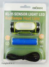 Dörr Kopflampe / Stirnlampe KL-15 Sensor Light LED mit AKKU, 150 Lumen