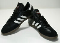 Adidas Mens Samba Classic Shoes, Black and White, Size 9, Pre-owned