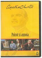 POIROT SI ANNOIA Agatha Christie DVD PAL ITA Abbinamento Editoriale