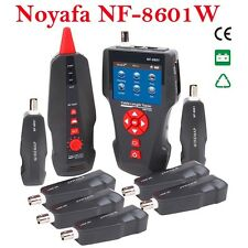 NF-8601W RJ45 LAN Network Cable Tester UTP STP Diagnose Tone Tracer BNC PING/POE