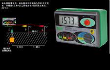 HOT DY4100 Digital Earth Ground Resistance Tester Meter Testing Meters