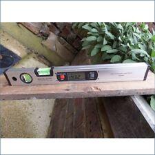 """Magnétique Niveau à bulle numérique mesureur d'angles 400mm (16"""") Inclinomètre"""