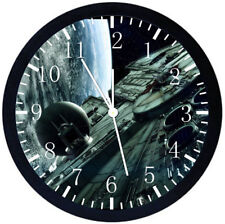 Star Wars Black Frame Wall Clock Nice For Decor or Gifts X42