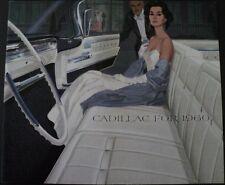 NOS 1960 Cadillac Sales Brochure 62 Coupe De Ville Fleetwood 60 & 75 Eldorado