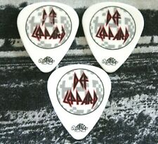 Def Leppard // Vivian Phil & Rick 2011 Mirror Ball Tour Guitar Pick Lot of 3
