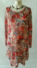 Brand New Maternity Pink Tapestry Tunic Top in Plus Sizes 14,16,18,20,22,26 & 30