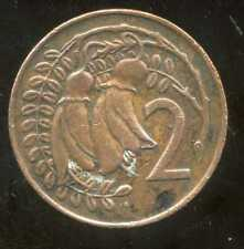 NOUVELLE ZELANDE 2 cents  1969