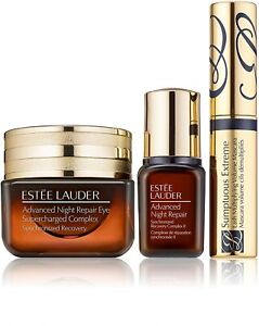 Estee Lauder Advanced Night Repair Eyes Recovery Sumptuous Extreme 3pc Set NEW