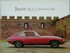 Jaguar XK-E 2+2 Family Coupe E Type  USA  Sales Brochure.