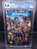 """X of Swords: Creation #1 CGC 9.8 """"Walmart Variant"""". Classic 90s X-Men"""