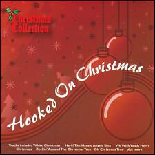 HOOKED ON CHRISTMAS CD ~ CLASSIC XMAS MIX! ~ WHITE~JINGLE BELLS ++ PARTY *NEW*