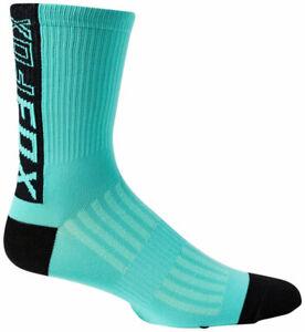 "Fox Racing Ranger Sock - Teal, 6"", Large/X-Large"