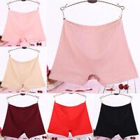 Women Lingerie High Waist Shorts Pants Seamless Underwear Knicker Panties Briefs