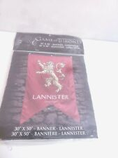 """Game Of Thrones Wall Banner House Lannister (30"""" x 50"""")"""