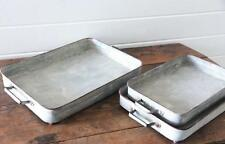 Galvanized Metal Box Tray~Large~ French Country Farmhouse