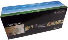 Genuine Original Lexmark BLACK Laser Printer Toner Cartridge C9202KH C920 *NEW*