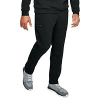 Under Armour Mens Rival Fleece Pant Black Sports Running Gym Breathable