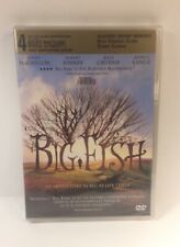 Big Fish (Dvd, 2004) Ewan McGregor, Albert Finney, Billy Crudup New Sealed