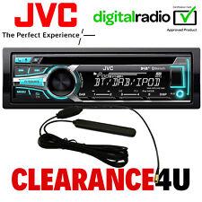 JVC KD-DB95BT 50x4 DAB Bluetooth CD MP3 USB iPod AUX In Car Stereo Radio Player