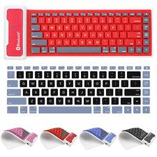 Waterproof Keyboard Wireless Fold Soft Bluetooth Keyboard For Apple For Samsung