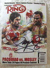 """MANNY PACQUIAO SIGNED 5 x 7"""" Photo COA Buy Genuine TEAM PACQUIAO PRIVATE SIGNING"""