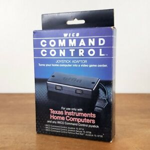 NOS Wico Command Control Joystick Adaptor 72-4530 Texas Instruments Home Compute