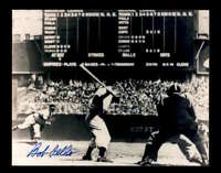 Bob Feller Hand Signed 8x10 Photo Autographed Cleveland Indians