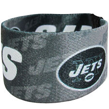 NEW! New York Jets Stretch Green White Bracelet NFL Wristband Power Band