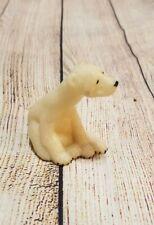 Second Nature Design Quarry Critters Paulie White Stone Polar Bear 2000 2.5