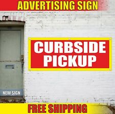 Curbside Pickup Banner Advertising Vinyl Sign Flag Food Here Open Only Express