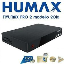 TIVUMAX HD-6400S RICEVITORE DIGITALE SATELLITARE CON SMART CARD TIVU SAT HUMAX