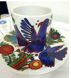 Villeroy and Boch - Acapulco Coffee Cup and Saucer, very rare find item $ 65.00