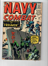 NAVY COMBAT #20 - Grade 5.0 - Final Issue of the SERIES! Silver Age War Stories!