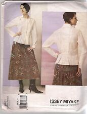 Vogue Sewing Pattern 2761, Issey Miyake Top and Skirt, Size 14 - 18 OOP, Uncut