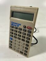 Vintage 4045 Construction Master IV 4 Calculator Calculated Industries