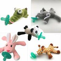 Cute Baby Pacifier Plush Toy Newborn Kids Boys & Girls Cartoon Nipp BR