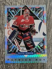 1993-94 Donruss Elite Series #9 PATRICK ROY 9708/10,000 MONTREAL CANADIENS Rare
