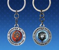 Blizzcon 2018 World Of Warcraft Faction KeyChain Blizzard Alliance Horde New