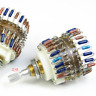 1pcs 23-Step 10KAX2 DALE Attenuator Dual-10K Stereo HiFi Volume Potentiometer