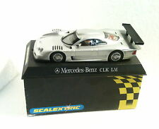 qq C 2254 SCALEXTRIC UK MERCEDES CLK LM ENTHUSIASTS RACER CLUB 2000 SILVER L.E.