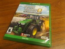 Farming Simulator 19 Platinum Edition (XBOX ONE) Tested - NICE!