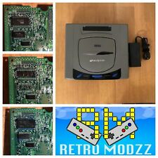 Sega Saturn Consola Blanco Gris 60Hz Multi Region BIOS F-RAM PAL NTSC PicoPsu