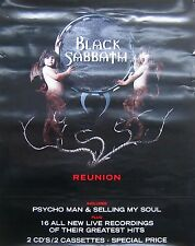 BLACK SABBATH, REUNION POSTER (B8)