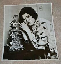 1930 PAGODA FESTIVAL VINTAGE ORIGINAL PHOTO CHINATOWN SAN FRANCISCO MAY CHOW