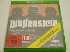 !!! XBOX ONE SPIEL Wolfenstein The new Order USK18 GUT !!!